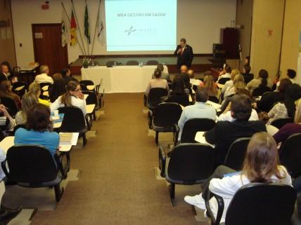 Inicia MBA Gestão em Saúde em Bento Gonçalves