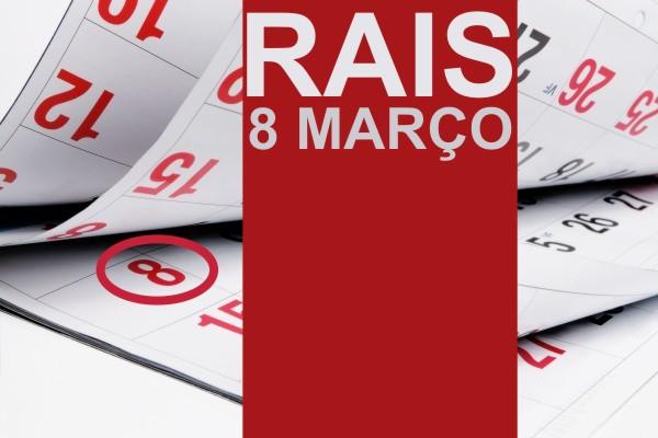 Prazo para entrega da RAIS vence em 8 de março