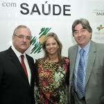 Deputado Pedro Westphalen, Patrícia Cavada e Dr. Cláudio José Allgayer