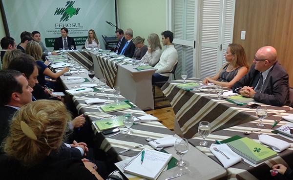 Forum FEHOSUL Juridico abre o ano com reuniao e apresenta nova Assessoria Juridica