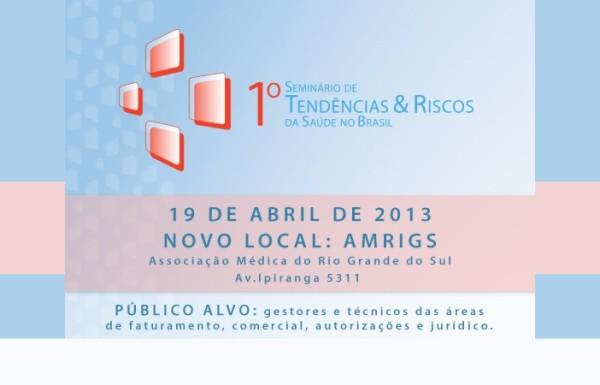 Seminário avalia Tendências e Riscos da Saúde no Brasil