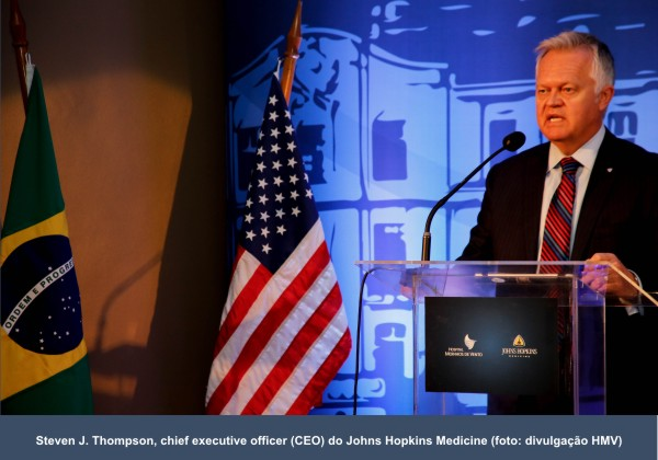 HMV é o primeiro afiliado do Johns Hopkins