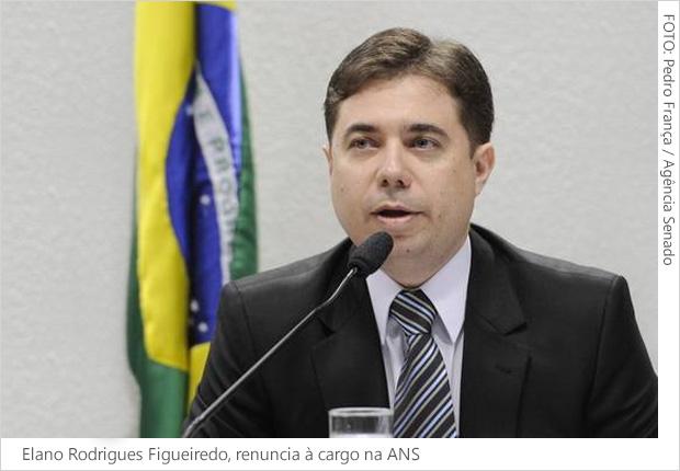 Elano Rodrigues Figueiredo renúncia