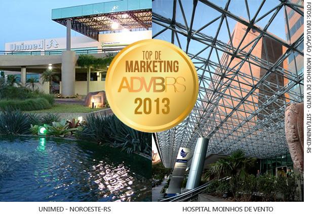 O Moinhos de Vento e Unimed destacam-se no Top de Marketing