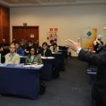 O público se fez presente e participou das palestras