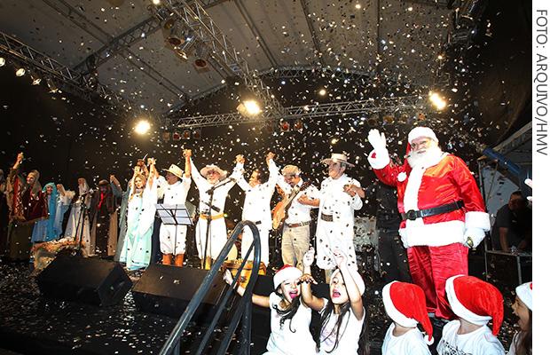 Os Fagundes Natal na Praça