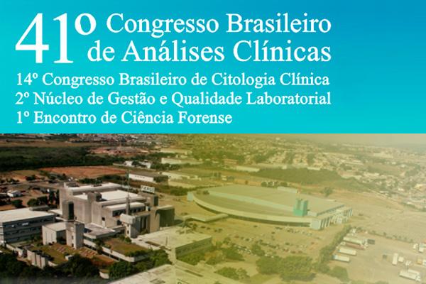 Inscrições abertas para o Congresso da Sociedade Brasileira de Análises Clínicas