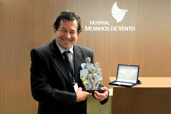Médico recebe Prêmio Inovação Medical Service