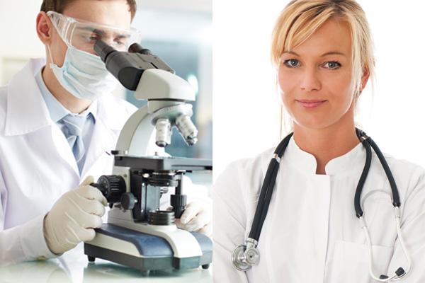 dia da saúde e patologista