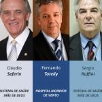 Cláudio Seferin, Fernando Torelly e Sérgio Ruffini entre os mais influentes da saúde