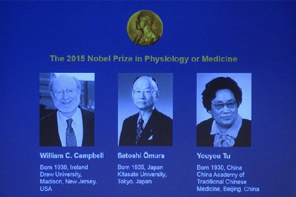 Nobel de Medicina vai para cientistas que desenvolveram tratamentos contra doenças parasitárias