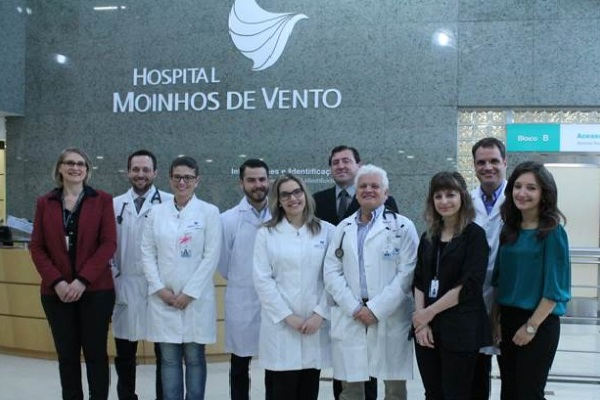 Residentes do Moinhos de Vento participam de projeto piloto no Hospital Johns Hopkins