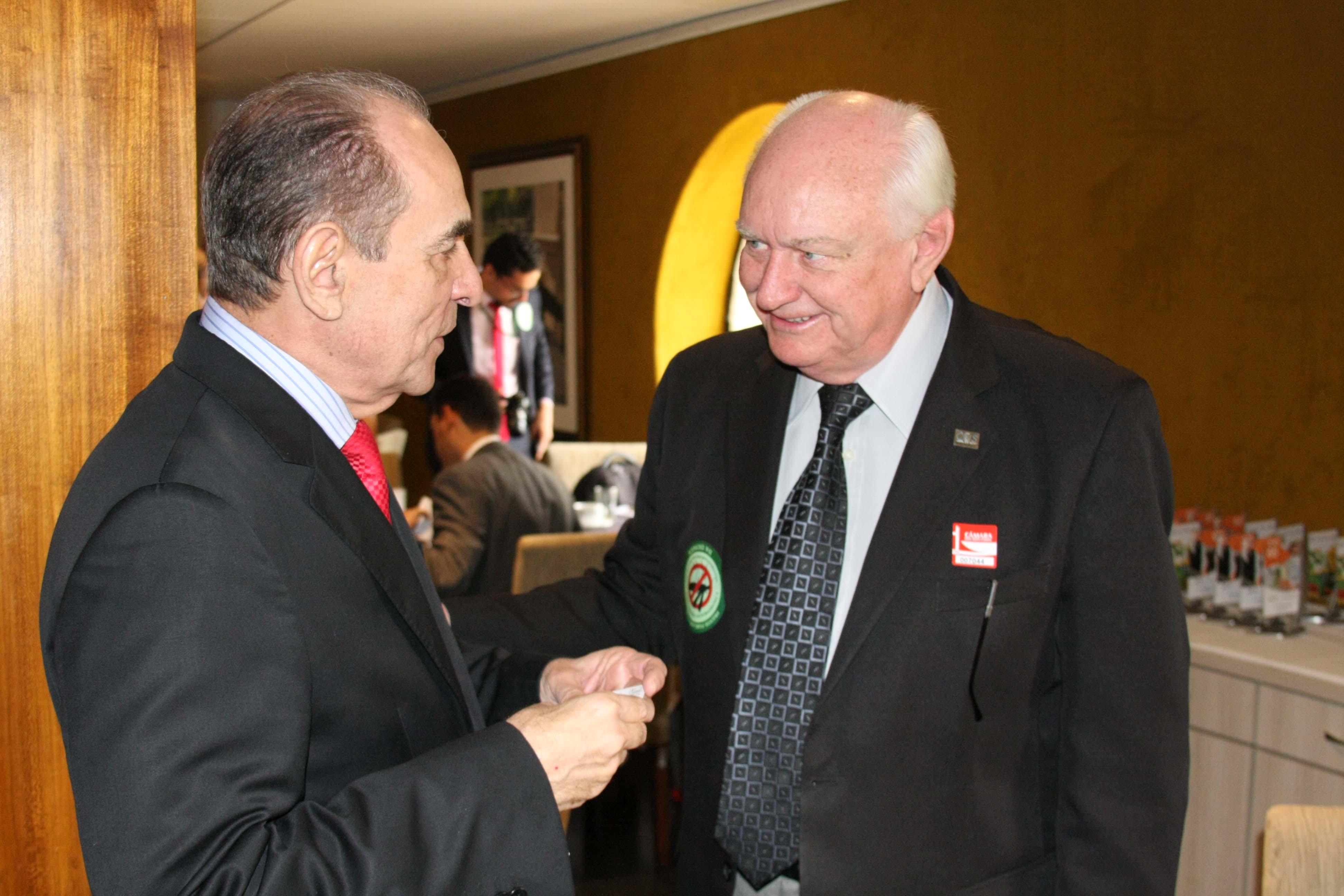Marcelo Castro e Tércio Kasten