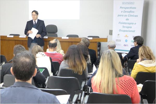 Fehosul promove debate sobre perspectivas e desafios dos serviços de Fisioterapia e Terapia Ocupacional