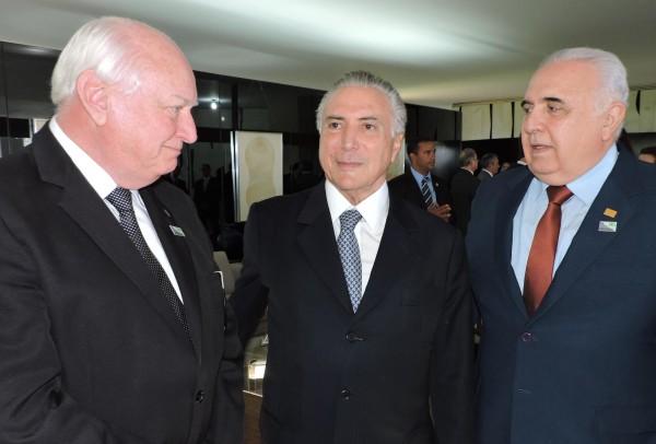 CNS volta a se reunir com o Presidente Michel Temer