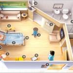 Funcionalidades de um quarto de hospital