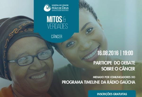 Hospital do Câncer Mãe de Deus debate mitos e verdades sobre o câncer