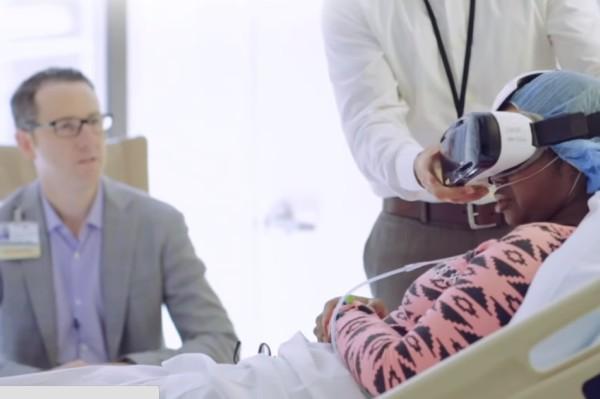 699b3afce Nos EUA, hospitais testam a realidade virtual como aliada no tratamento