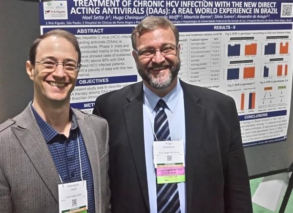 Hospital Moinhos apresenta nos EUA estudo inédito no Brasil sobre novo tratamento da Hepatite C