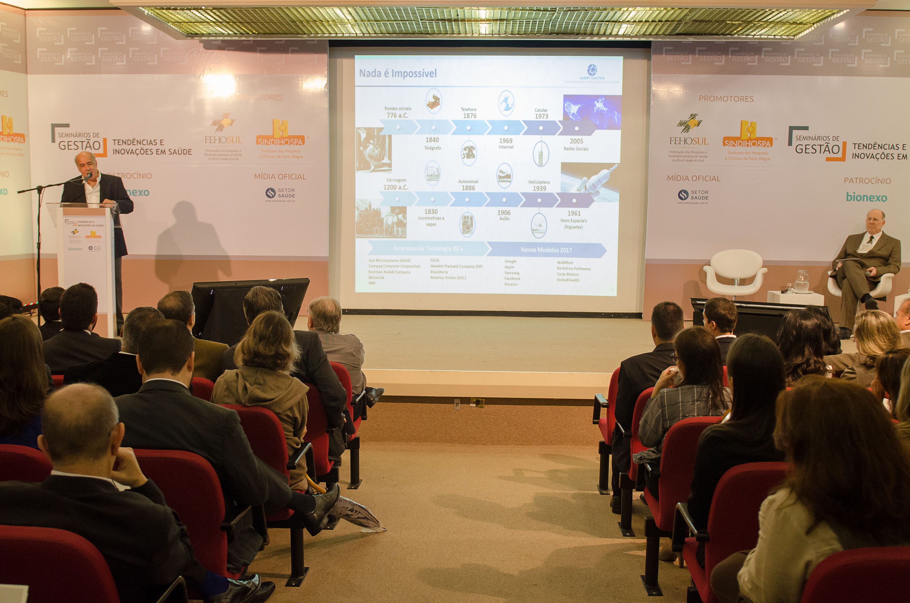 Tendências e inovações em saúde apresentadas em Porto Alegre