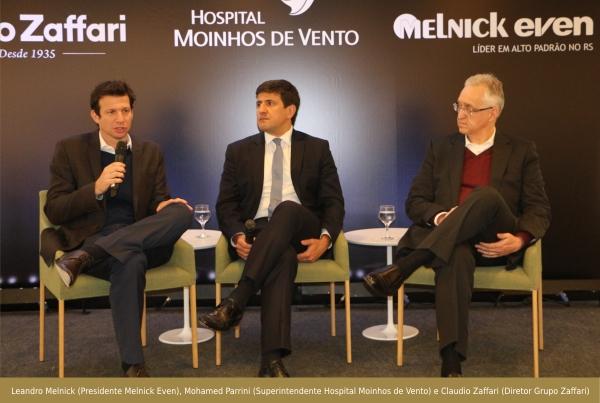 Hospital Moinhos de Vento apresenta Hub da Saúde na Zona Sul de Porto Alegre