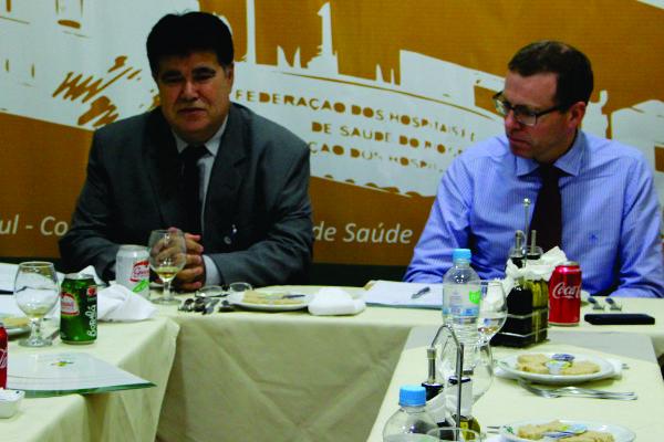 FEHOSUL realiza primeiro encontro do grupo de estudos da legislação trabalhista
