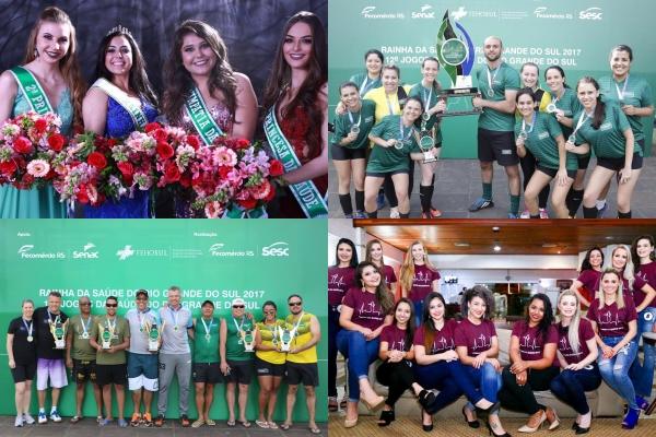 12º Jogos e Rainha da Saúde 2017 reuniram mais de 600 colaboradores de instituições de saúde