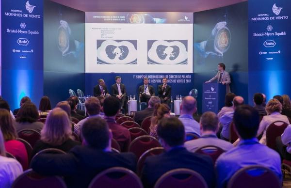 Especialistas internacionais discutem os avanços no tratamento do câncer de pulmão em simpósio realizado em Porto Alegre