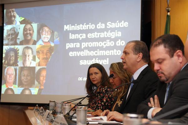 Projeto Estratégia Nacional para o Envelhecimento Saudável na rede pública de saúde