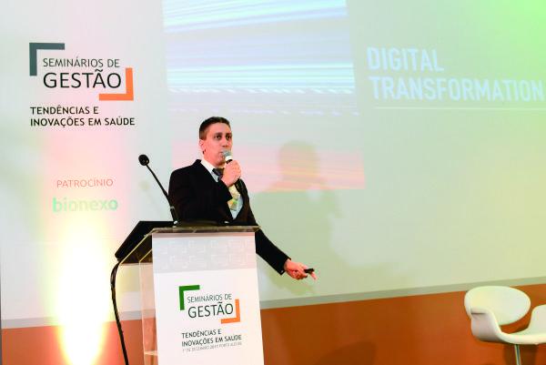 Transformação digital na área da saúde também foi tema do Seminários de Gestão
