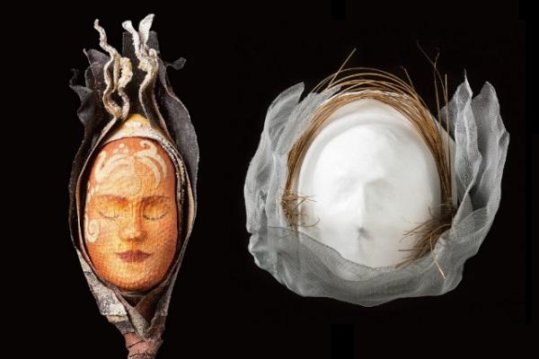 Arte na Oncologia Cada um tem sua máscara e nenhuma é igual a outra