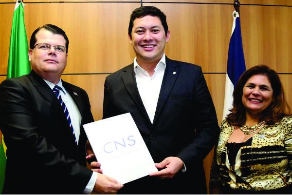 CNS encaminha demandas durante audiência com ministro do Trabalho interino