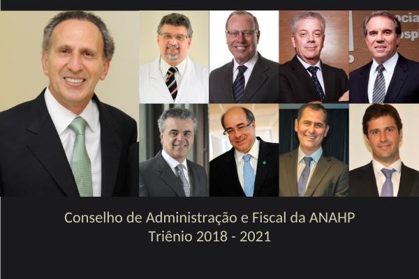 Anahp apresenta novos dirigentes para o triênio 2018-2021