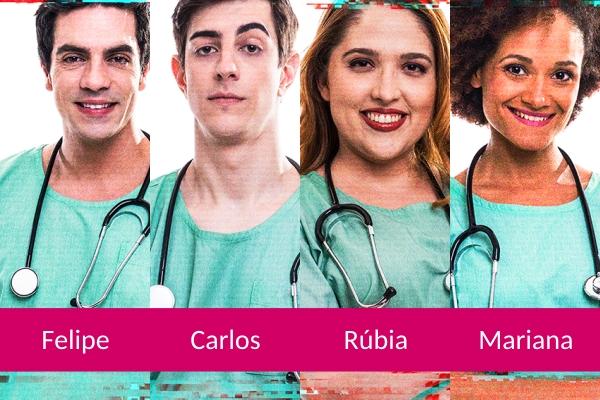 Série online Residência Médica estreia no dia 26 de abril