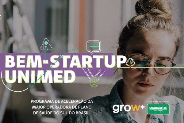 2º Ciclo Programa BEM-STARTUP Unimed Porto Alegre(Últimos dias para inscrição)