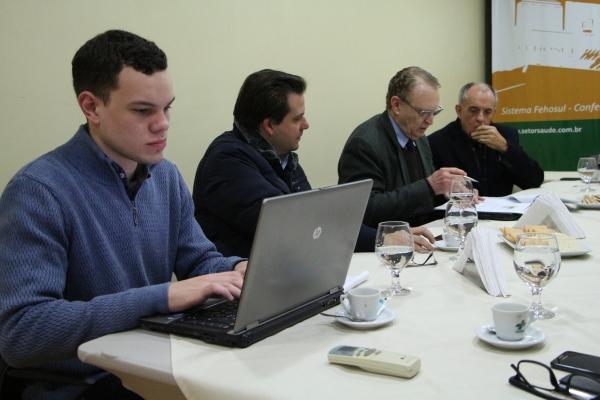 FEHOSUL realiza nova reunião com Agenda 2020