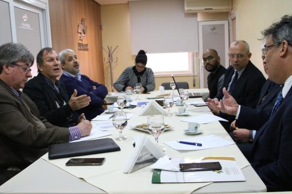 FEHOSUL realiza nova reunião com dirigentes da Federação das Santas Casas