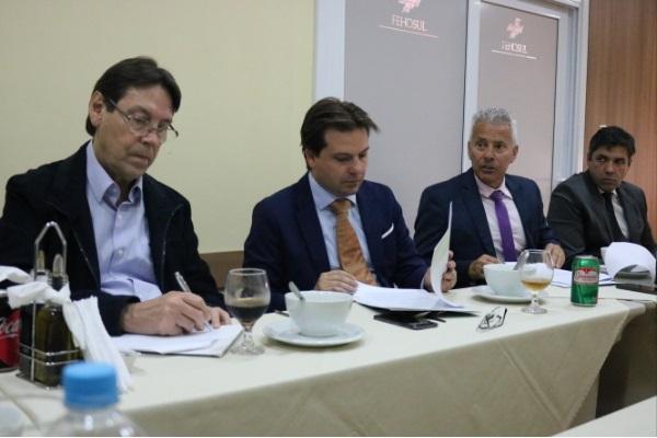FEHOSUL realiza reunião com Agenda 2020