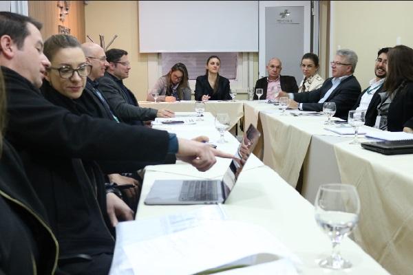 Grupo Técnico da FEHOSUL realiza encontro com propostas finalizadas