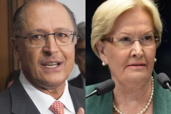 Alckmin e Ana Amélia se reunirão com dirigentes e lideranças da saúde