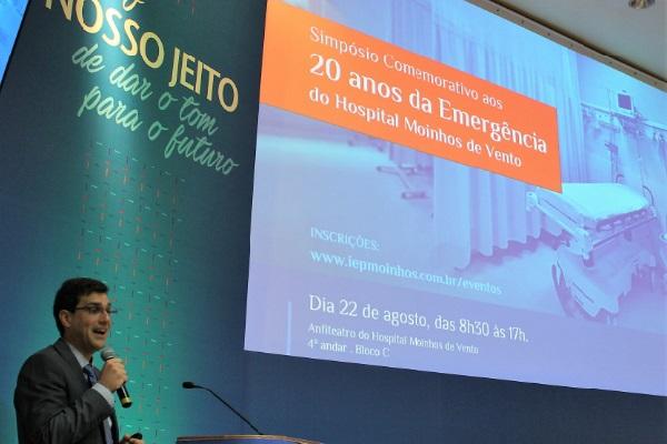 Simpósio celebra os 20 anos da Emergência do Hospital Moinhos de Vento