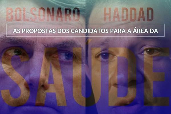 CNSaúde publica material com propostas de Bolsonaro e Haddad