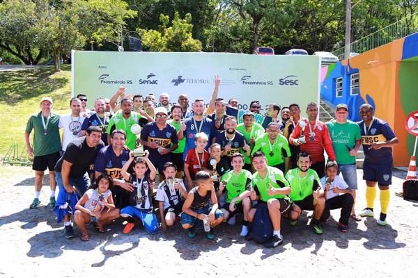 Hospital Militar de Porto Alegre é o grande campeão da 13ª edição dos Jogos e Rainha da Saúde