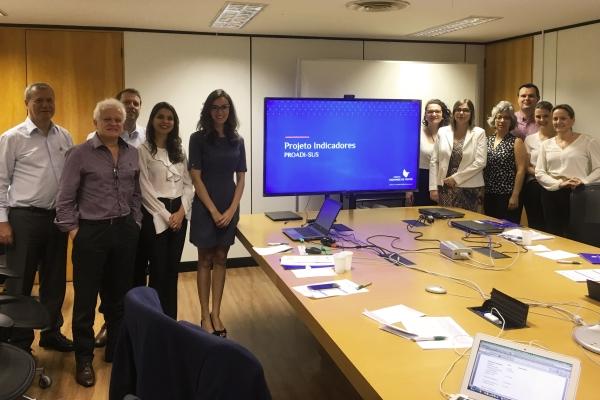 ANS coordena projeto para construção de indicadores de qualidade para hospitais em parceria com o Hospital Moinhos de Vento