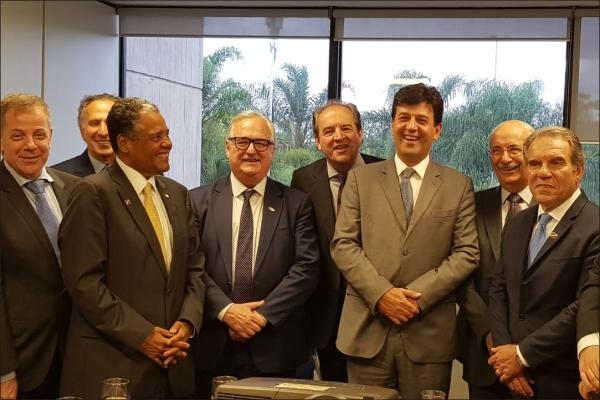 Lideranças da saúde se reúnem com o futuro ministro da saúde