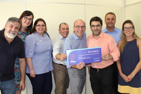 Beneficência Portuguesa recebe R$ 75 mil do Troco Amigo da Panvel