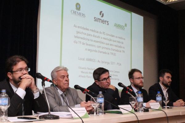 Entidades médicas do RS pedem revogação de resolução do CFM sobre Telemedicina