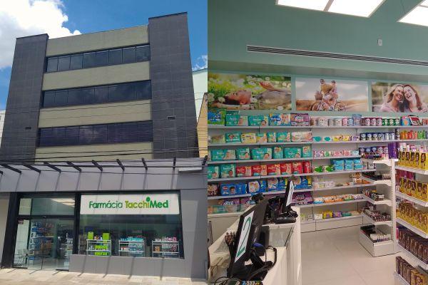 Sistema de Saúde Tacchini inaugura nova farmácia em Bento Gonçalves