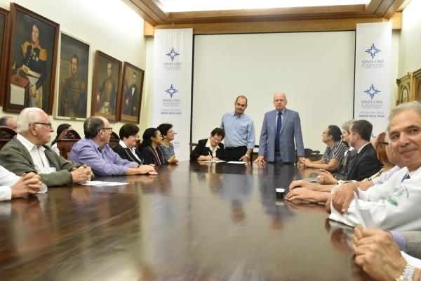Transferência do patrimônio do Hospital Dom João Becker à Santa Casa é concretizada