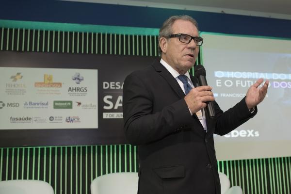 Francisco Balestrin apresenta nos Desafios da Saúde como será o Hospital do Futuro